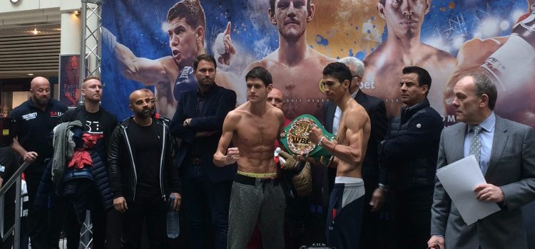 McDonnell-Vargas – Weigh in report