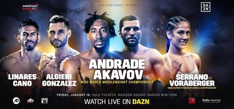 Ringside Report – Andrade outclasses Akavov, Cano steals the show in devastating fashion, Doheny impresses & more