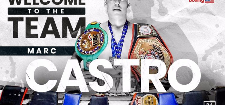 AMATEUR ACE CASTRO SIGNS WITH MATCHROOM BOXING USA