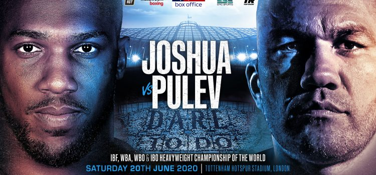 JOSHUA AND PULEV CLASH AT THE TOTTENHAM HOTSPUR STADIUM