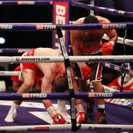 AVANESYAN STOPS KELLY IN SIX TO RETAIN EUROPEAN WELTERWEIGHT CROWN