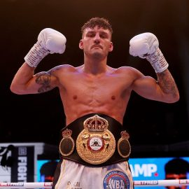 WOOD RIPS WBA FEATHERWEIGHT WORLD TITLE FROM XU CAN WITH 12TH-ROUND STOPPAGE